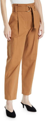 A.L.C. Diego Relaxed-Leg Belted Cargo Pants