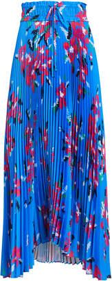 A.L.C. Maya Pleated Floral Skirt