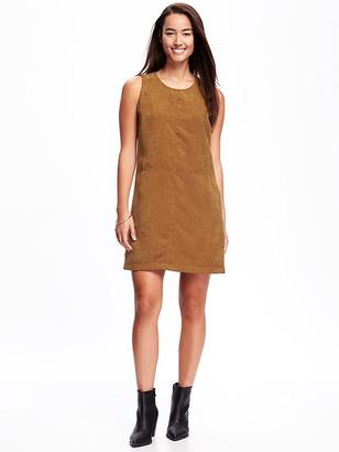 Sueded Shift Dress for Women $39.94 thestylecure.com