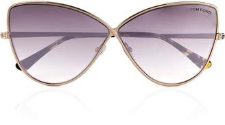Tom Ford Elise-02 Cat Eye Sunglasses - Rose