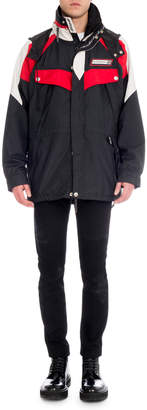 Givenchy Men's Colorblock Wind-Resistant Jacket