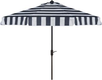 Safavieh Up Resistant Elsa Fashion Line 9Ft Auto Tilt Umbrella