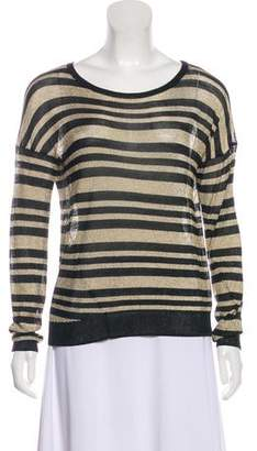 Rag & Bone Semi-Sheer Striped Sweater