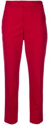 RED Valentino cropped straight-leg trousers