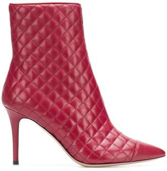 Fabio Rusconi quilted ankle boots