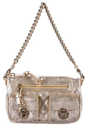 Marc Jacobs Metallic Quilted Leather Shoulder Bag