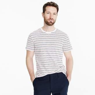 J.Crew Tall Mercantile Broken-in T-shirt in seaside stripe