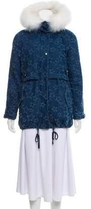 Jocelyn Fox-Lined Cargo Coat