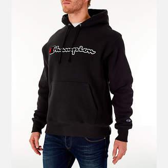 Champion Men's Reverse Weave Chenille Logo Hoodie