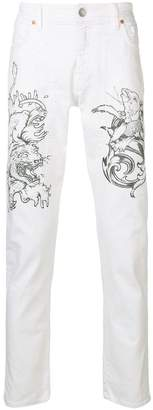 Jeckerson printed trousers