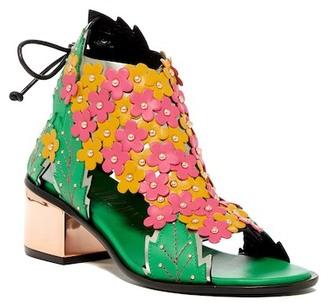 Ivy Kirzhner Flora Block Heel Sandal $495 thestylecure.com