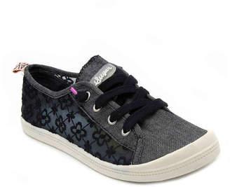 Sugar Genius Slip-On Sneaker -Grey Canvas - Women's