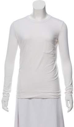 Alexander Wang Crew Neck Long Sleeve T-Shirt w/ Tags
