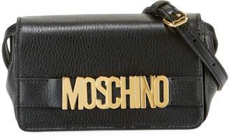 Moschino Glossy Logo Crossbody Bag
