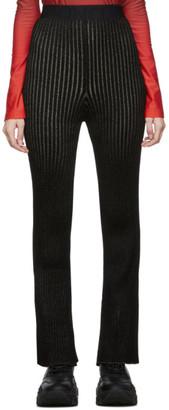Moncler Genius 2 1952 Black Tricot Lounge Pants