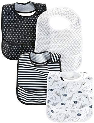Carter's Simple Joys by Baby 4-Pack Feeder Bibs