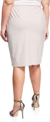 Lafayette 148 New York Maxine Wool-Blend Pencil Skirt, Plus Size
