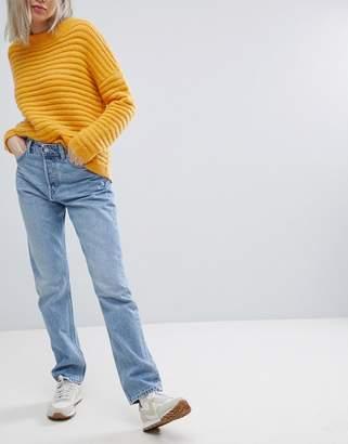 Weekday Line Vintage Look Straight Leg Jean