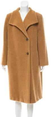 Max Mara Alpaca & Wool-Blend Coat