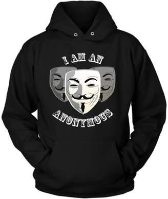 District Hoodies Anonymous Hoodie, L