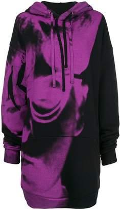 Maison Margiela print long sweatshirt