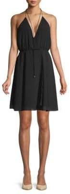 Haute Hippie The Harmony Sleeveless Knee-Length Dress