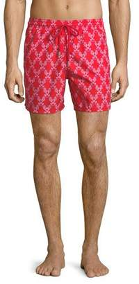 Vilebrequin Moorea Sea Horse Love-Print Swim Trunks