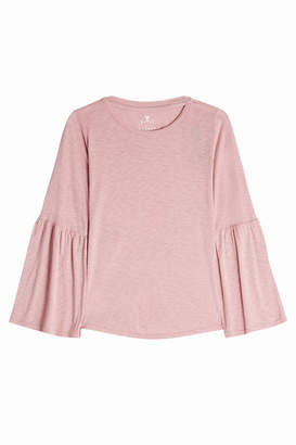Velvet Jersey Top with Cotton