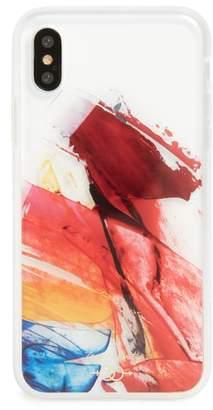 Zero Gravity Abstract iPhone X Case