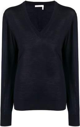 Chloé long-sleeve fitted sweater