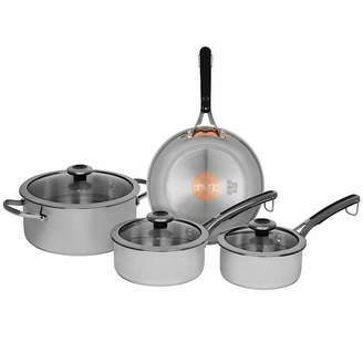 Revere Copper Confidence Core 7-pc. Stainless Steel Cookware Set