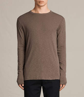 AllSaints Laoter Long Sleeve Crew T-Shirt