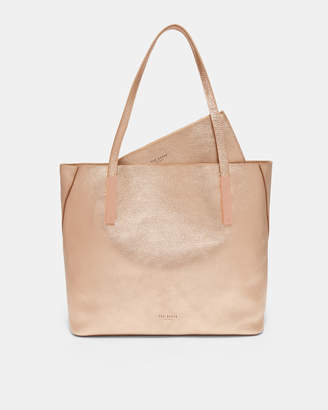 2c7aa31cdad2dc Ted Baker LELEXUS Bar detail leather shopper bag