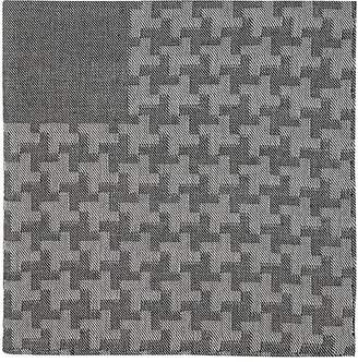 Simonnot Godard Men's Geometric-Pattern Cashmere-Blend Handkerchief