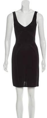Zac Posen Knit Mini Dress