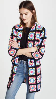 Michaela Buerger Crochet Flower Coat