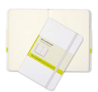 Moleskine NEW Limited Edition Pocket Plain Notebook White