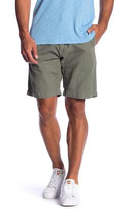 Faherty Cotton & Linen Mid Rise Shorts