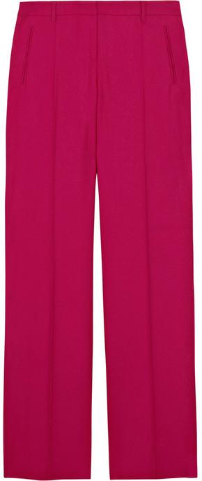 Philosophy di Alberta Ferretti Wool-blend twill pants