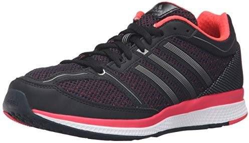 Adidas Performance Women's Mana RC Bounce W Running Shoe, Black/Neo Iron Metallic F11/Shock Red S16, 6 M US