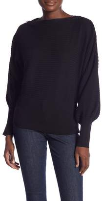 Laundry by Shelli Segal Novelty Sleeve Sweater