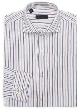 Saks Fifth Avenue MODERN Vertical Stripe Dress Shirt
