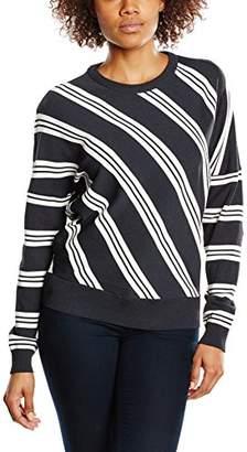 BZR Women's Faye Striped Long Sleeve Jumper