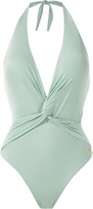 BRIGITTE twisted detail swimsuit