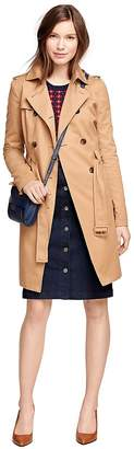 Cotton Trench Coat $298 thestylecure.com