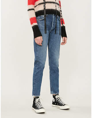 A Gold E AGOLDE Jamie straight-leg high-rise jeans