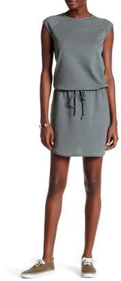Allen Allen Raglan Crew Neck Shirt Dress $88 thestylecure.com