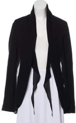 Damir Doma Wool Open Front Blazer