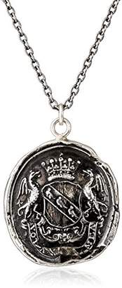 Pyrrha Talisman Sterling My Life Is a Prayer Necklace