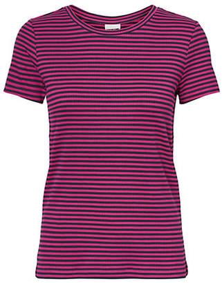 Noisy May Ribbed Striped Top